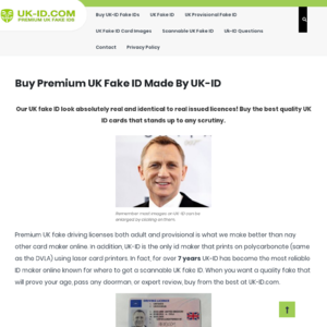UK-ID.com Fake ID Website Review